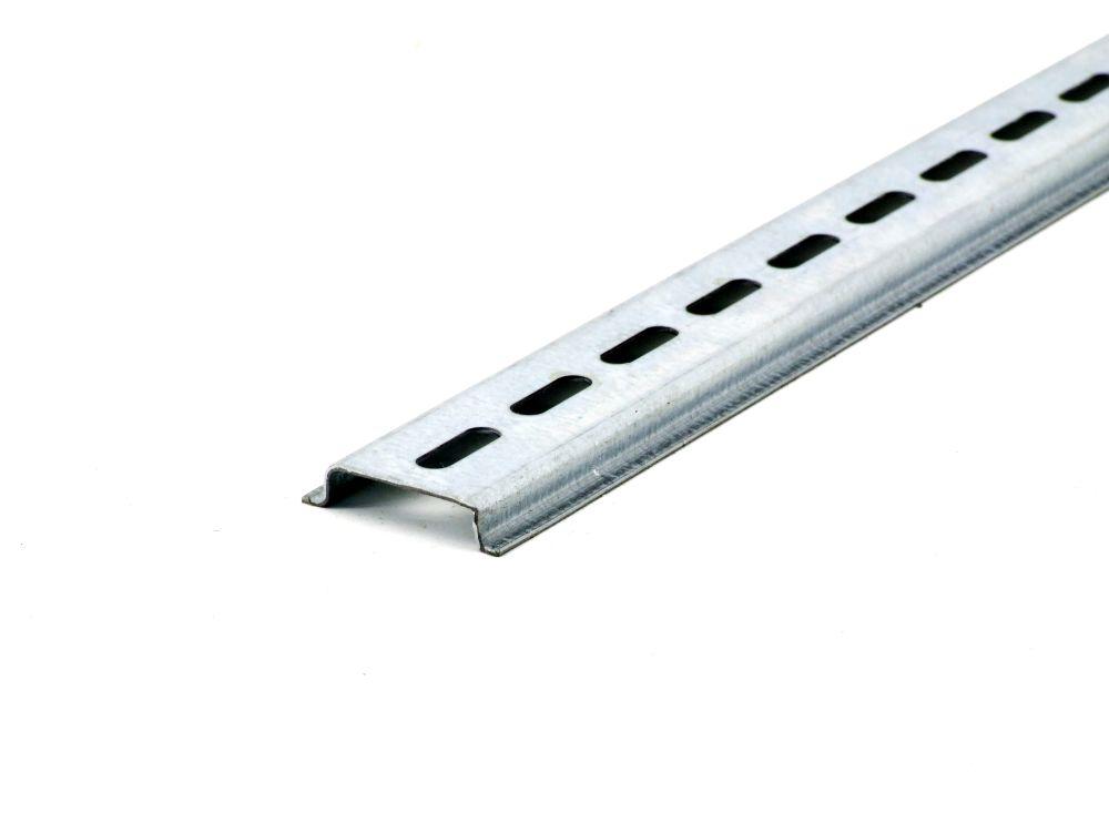Hutprofilschiene 35x7.5 Tragschiene Montage System Strebe Profil Schiene L=395mm 4060787314680
