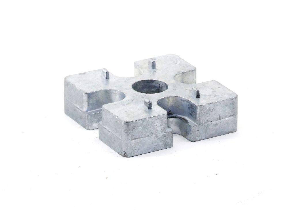 Bosch Aluminiumprofil 45mm H=13 Profil-Verbinder Flanschanschluss Endverbinder 4060787315632