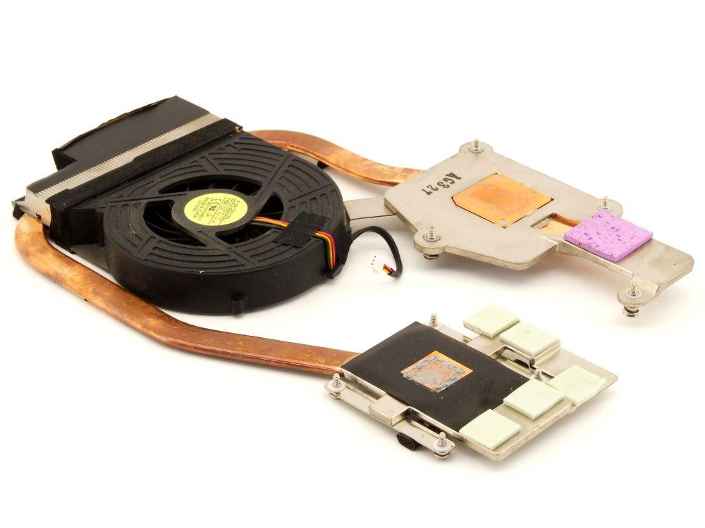 Acer 60.4AJ01.001 Aspire 8530G DFS601605HB0T Laptop GPU Lüfter CPU Kühler Cooler 4060787318497