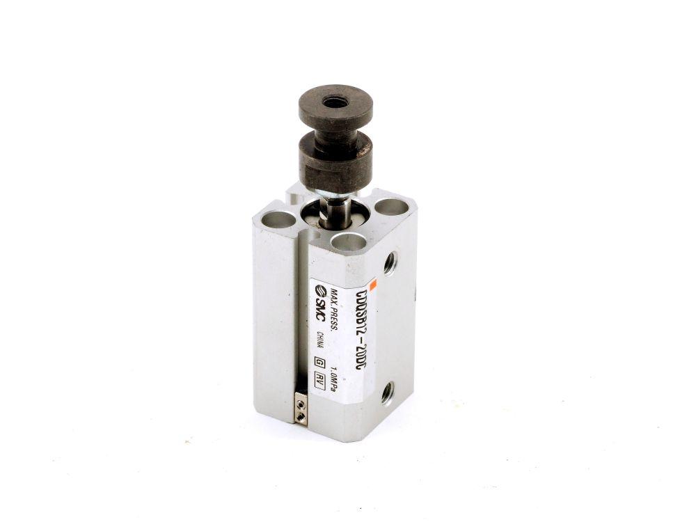 SMC CDQSB12-20DC Pneumatic Cylinder 20 MM Druckluft Varianten-Kompakt-Zylinder 4060787319258