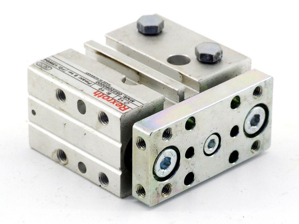Rexroth 0822060000 Führungszylinder Kolbenstangenzylinder GPC-DA-012-0010-BV-SB 4060787319425
