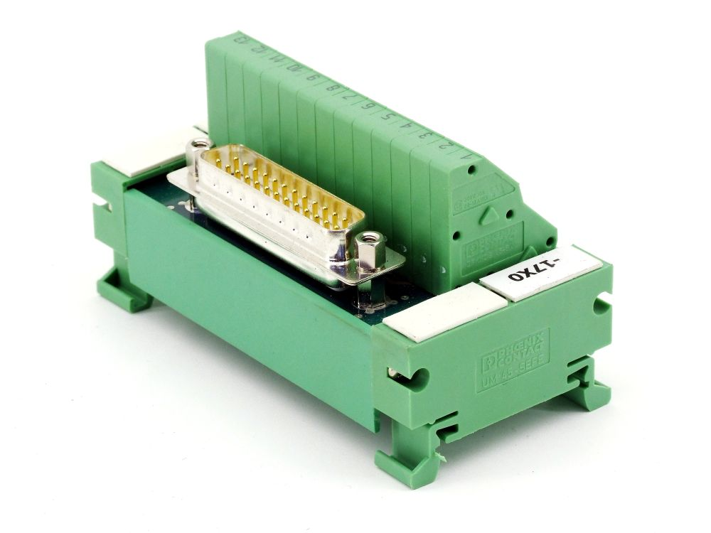 Phoenix Contact 2293637 UM 45-D25SUB/S/ZFKDS Übergabemodul Block VARIOFACE-Modul 4017918120535