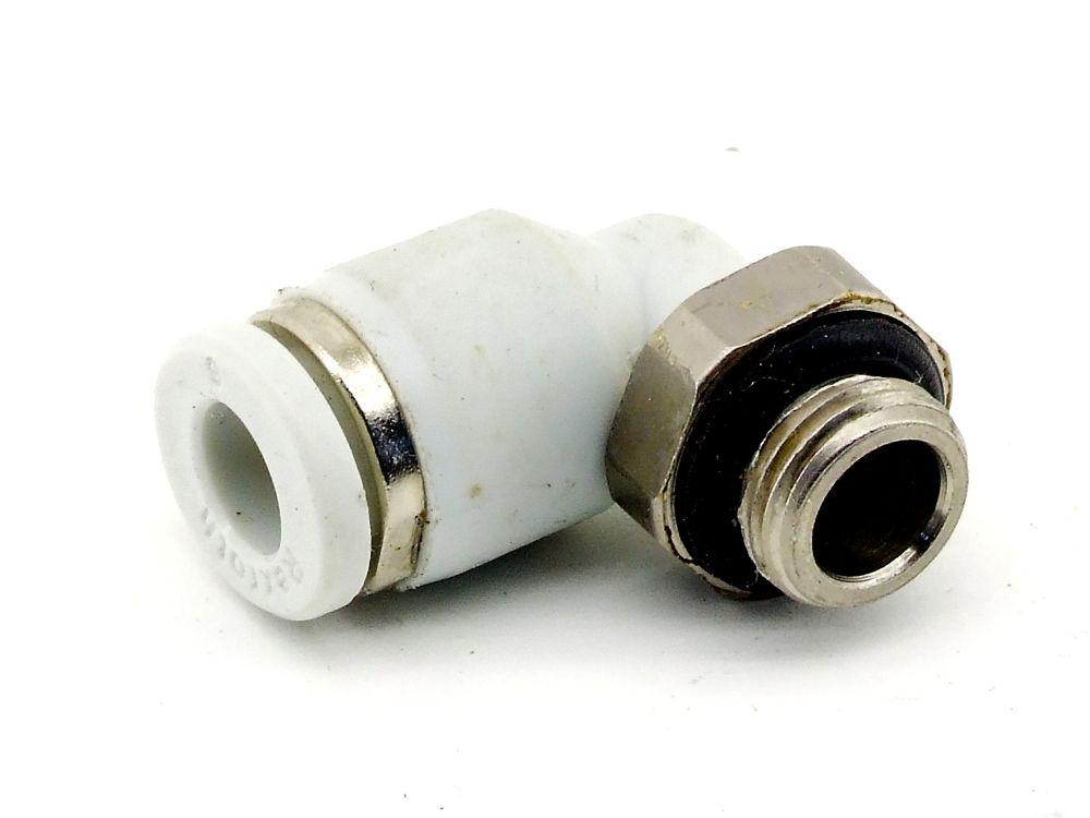 Rexroth Winkeleinschraubung G1/8 Druckluft Winkel-Steckverschraubung 6mm Fitting 4060787321237