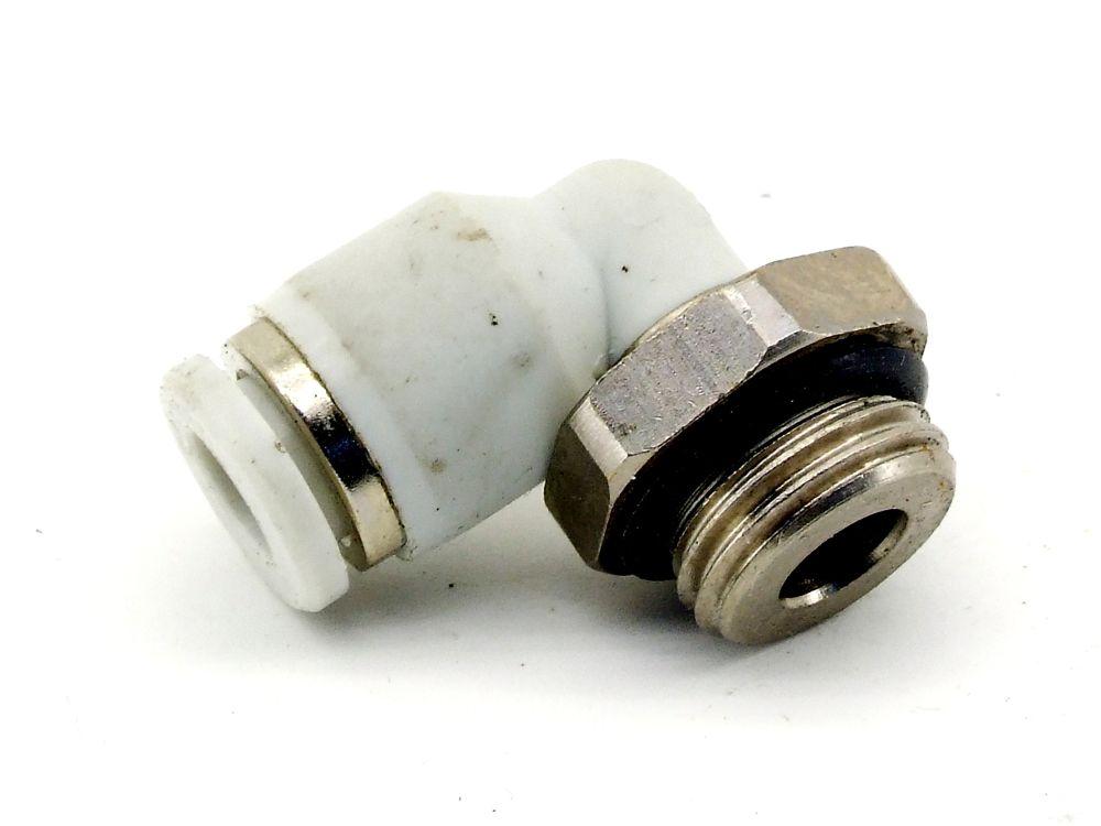 Rexroth Winkeleinschraubung G1/4 Pneumatik Winkel-Steckverbindung 6mm Adapter 4060787321244