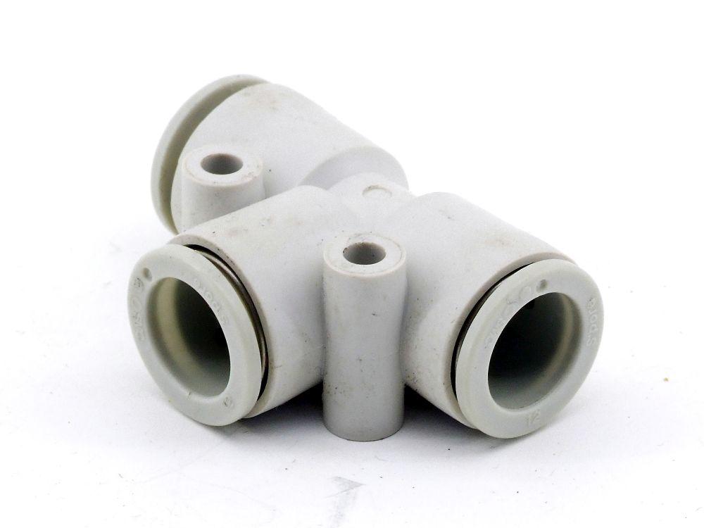 SMC KQ2T12-00A Pneumatik T-Verteiler One-Touch-Fittings Adapter Steckanschluss 4060787321541