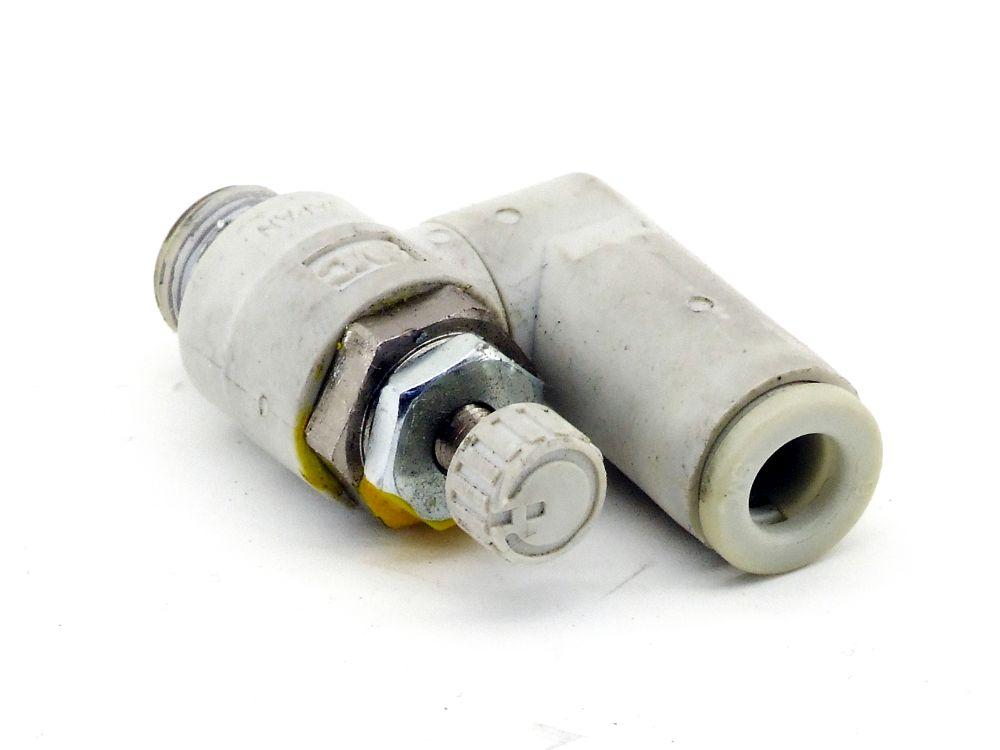 SMC AS2301F-01-06S Drosselrückschlag-Ventil Durchflussregler Speed Controller 4060787321695