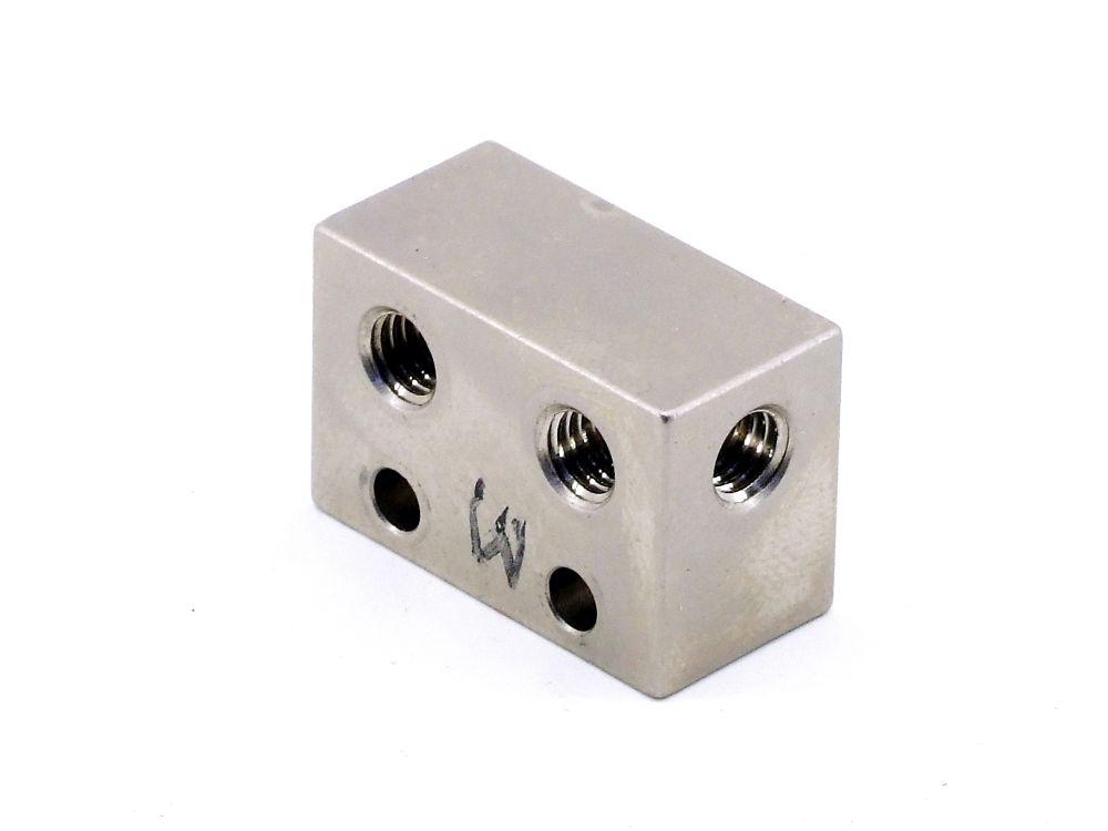 Pneumatik Verteiler Leiste Ventil Anschluss-Block M5 Druckluft Splitter Adapter 4060787322647