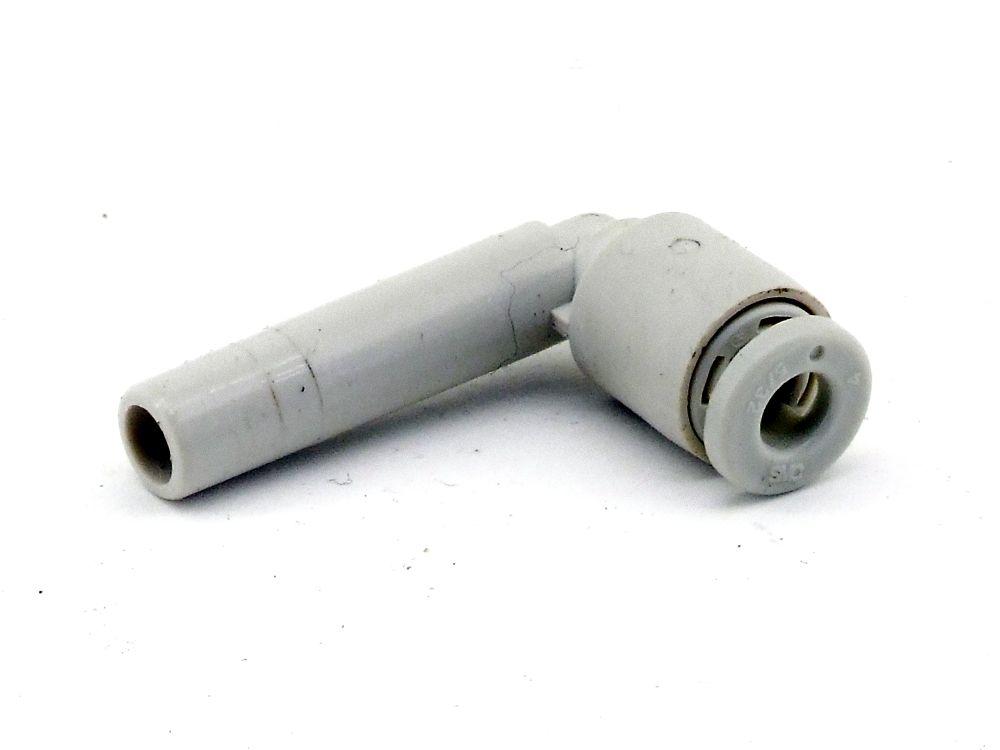 SMC 4mm Schlauch-Winkelsteckanschluss Pneumatik Nippel L-Verbinder 6mm Adapter 4060787322944