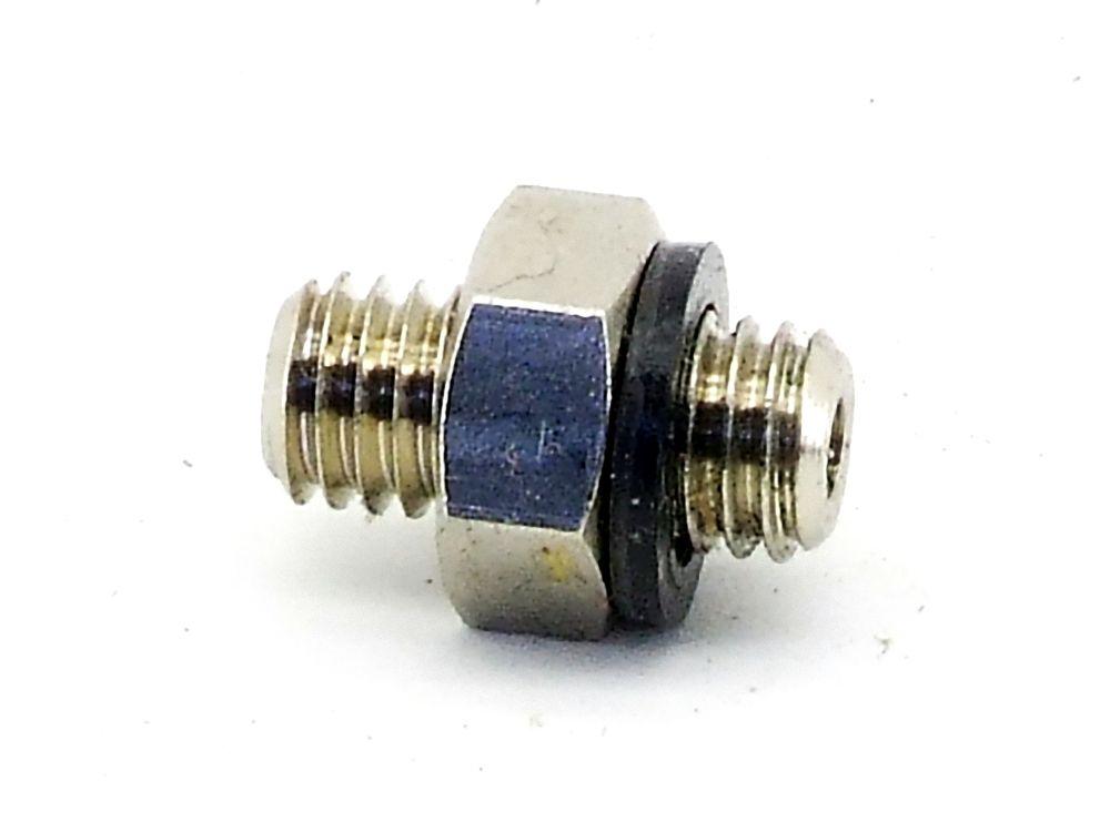 Hydraulik M5 Miniatur Kupplung Rohr-Verschraubung Verbindung L=11,6mm Adapter 4060787323699