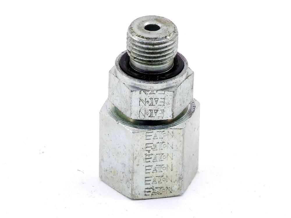 EATON WAL063661 Hydraulik Gerade Einschrubstutzen G1/8 Adapter Verbinder-Element 4060787323767