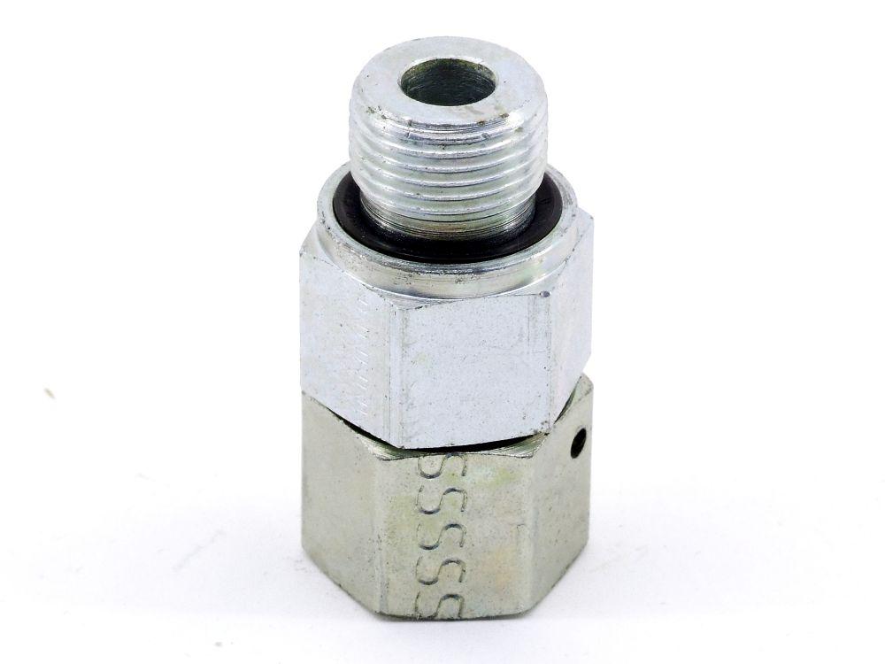 EATON Hydraulik Schraub-Verbindungsstutzen d=8mm G3/8 Rohr-Adapter-Stück Fitting 4060787323958