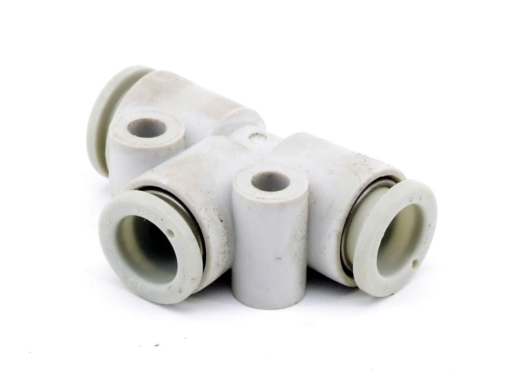 SMC KQ2T08-00A Pneumatik Steckverbindung 8mm Druckluft Steckanschluss Fitting 4060787324115