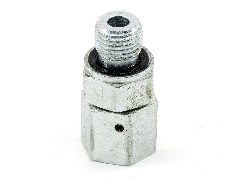 Hydraulik L-Stück 1/2-150 Winkel-Rohr-Verschraubung 316 SW25+38 Adapter Fitting 4060787325389