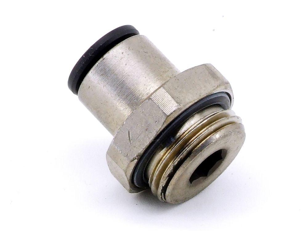 Parker Legris 3101 08 17 Einschraubverschraubung 8mm Pneumatik Fitting Adapter 4060787325495