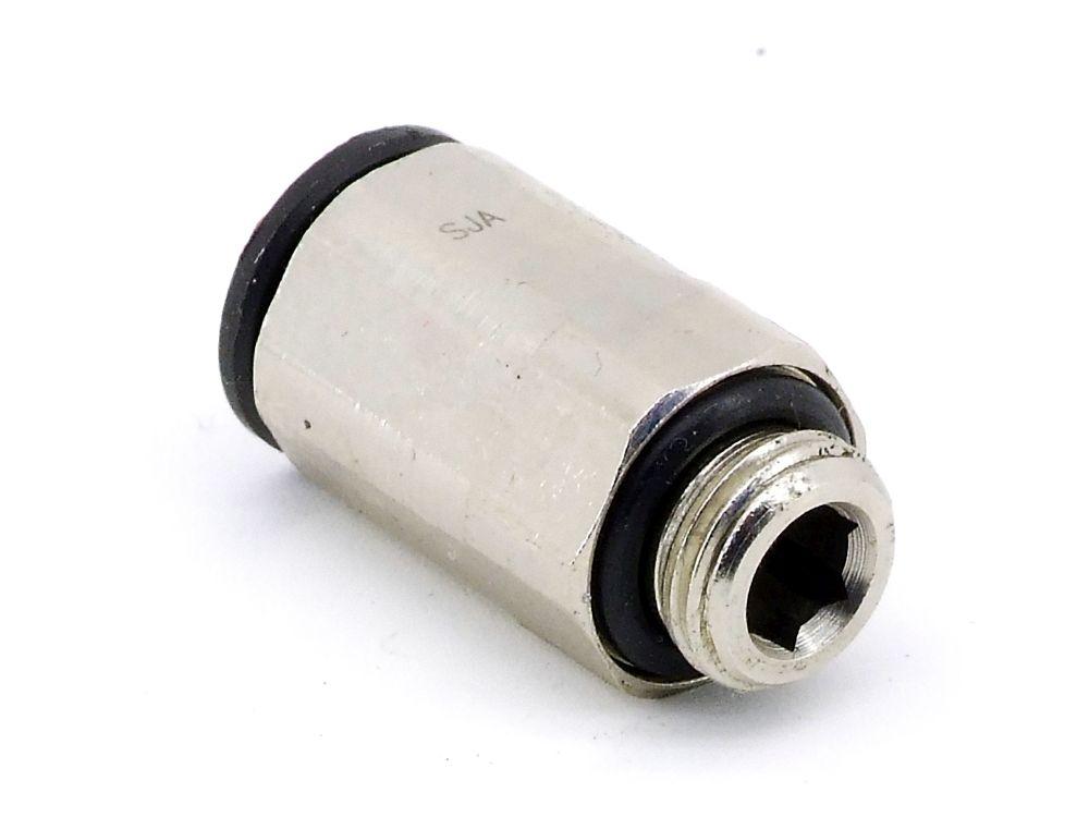Parker Legris 3101 08 10 Einschraubverschraubung Pneumatik Plug Steckverbinder 4060787325525
