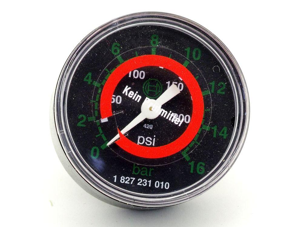 Rexroth Aventics 1827231010 Pneumatik Rohrfedermanometer Druckluft Serie PG1-SNL 4060787326225