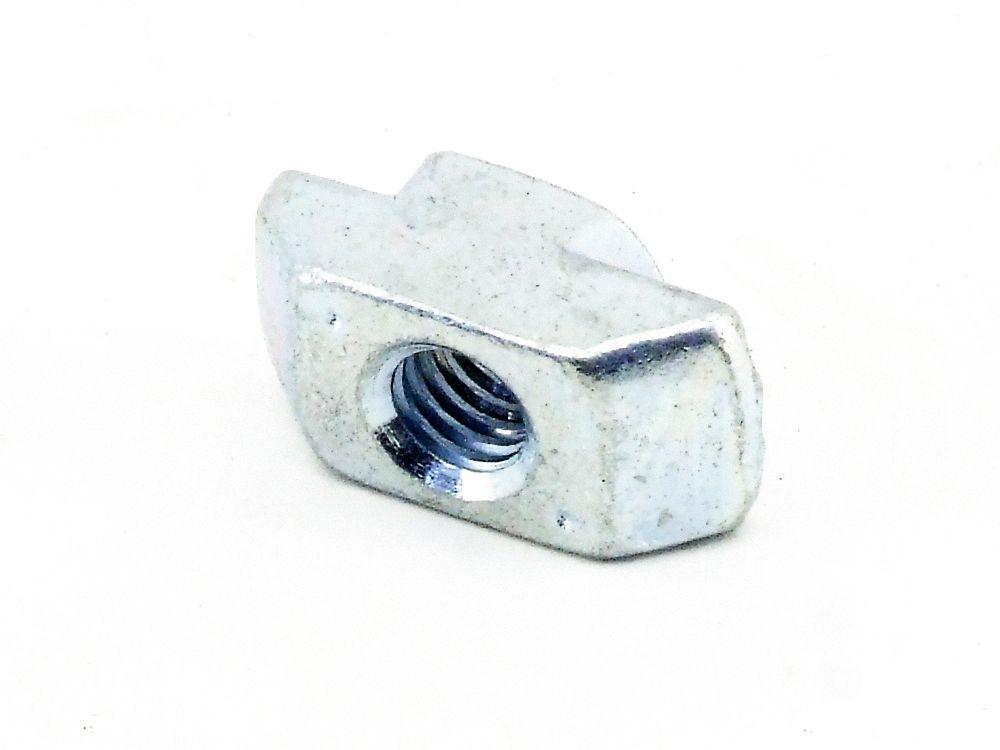 10x M6 T-Nut 10 Bosch Aluminium Strebenprofil-Mutter Hammermutter Nutensteine