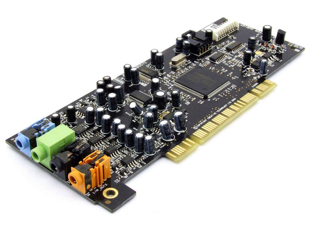 Creative Labs SB0570 Sound Blaster Audigy 7.1 Multimedia Surround Audio PCI Card Nicht zutreffend