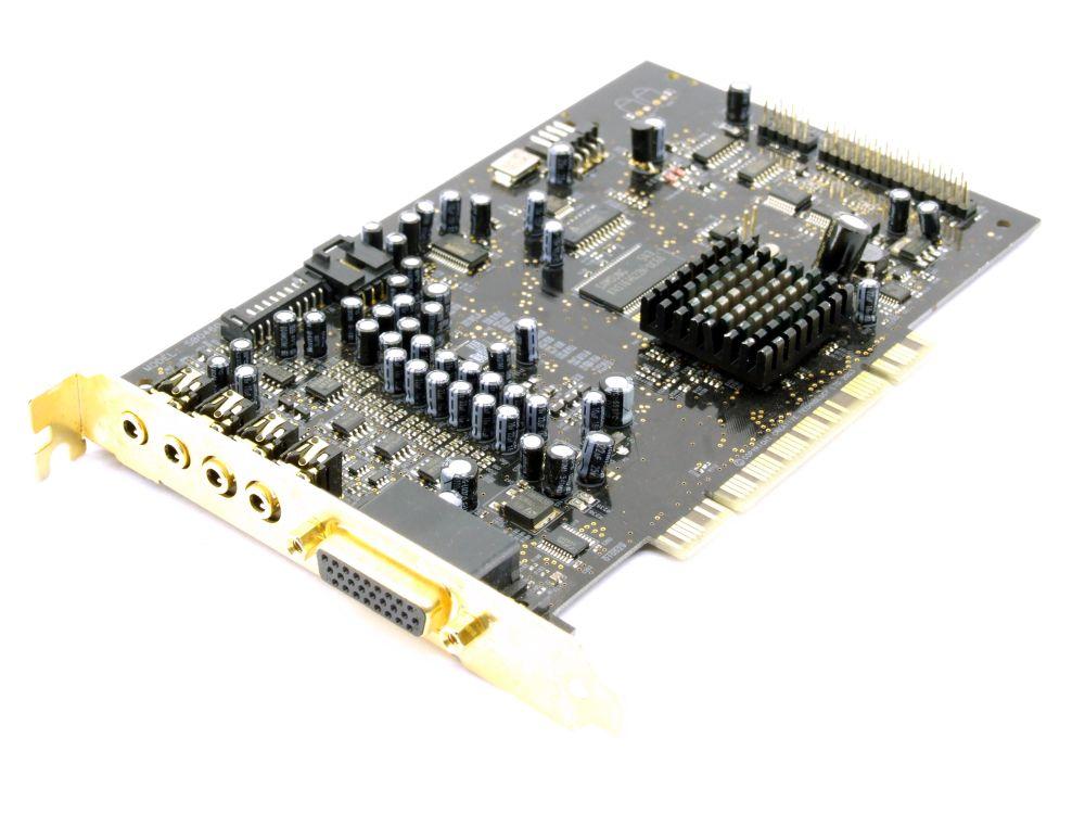 Creative Labs SB0460 Sound Blaster X-Fi XtremeGamer Fatal1ty Pro PCI Audio Karte Nicht zutreffend
