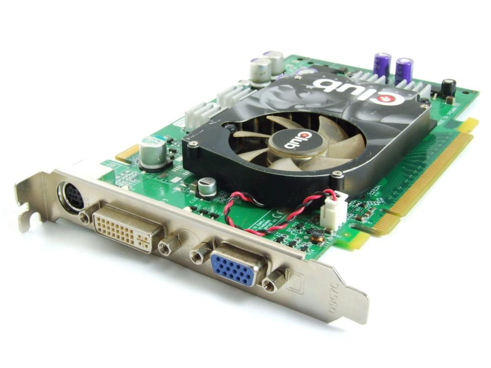 Club 3D PCIe Geforce 6600GT 128MB GDDR3 Video Card TV-Out DVI VGA CGNX-G668TVD 4060787251879