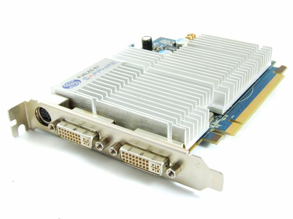 Sapphire Radeon HD3470 256MB GDDR3 2xDVI 188-06E39-0D1SA Video Card Passive RARE 4060787252470