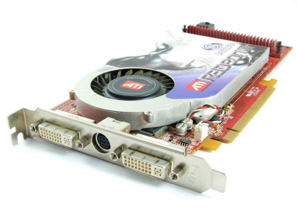 ATI Radeon X1800GTO 256MB GDDR3 PCI-E Graphics Card Dual DVI TV-Out 102A5200321 4060787254245
