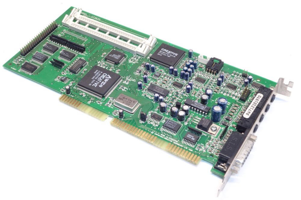 Creative Sound-Blaster AWE32 PnP IDE CT3670 DOS ISA Retro Audio-Card Soundkarte 4060787152725