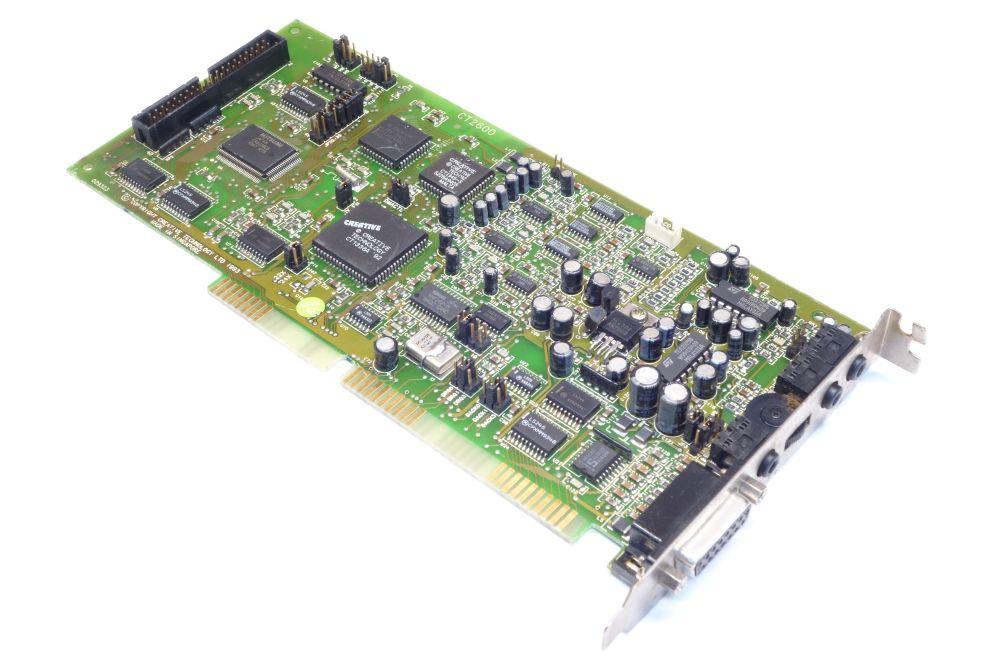 Creative Sound-Blaster Pro 2 CT2600 ISA Audio-Card Sound-Karte IDE Yamaha OPL3 4060787152909