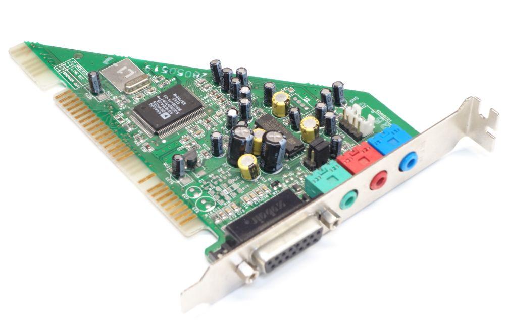 Aztech SC16-3D ISA PC Audio-Card Sound-Karte Analog Devices AD1816AJS Sound-Port 4060787153357