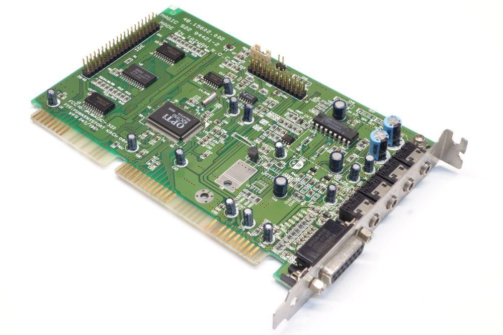 AESL Magic S22 ISA PC DOS Vintage Audio-Card Sound-Karte Yamaha OPL3 OPTi 82C930 4060787153937