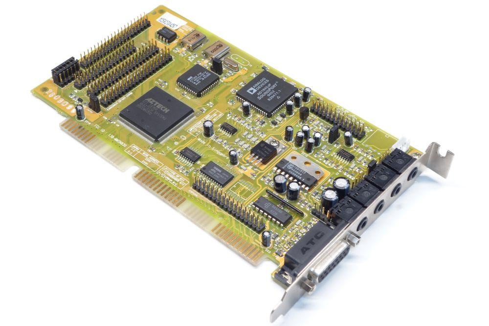 Aztech Sound Galaxy Washington 16 I38-MMSN830 ISA PC Audio-Card Sound-Karte OPL3 4060787154163