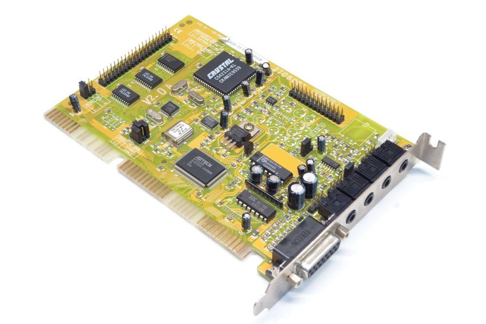 Aztech I38-SN96103 ISA PC DOS Vintage Audio-Card Sound-Karte Crystal CS4231A-KL 4060787154187
