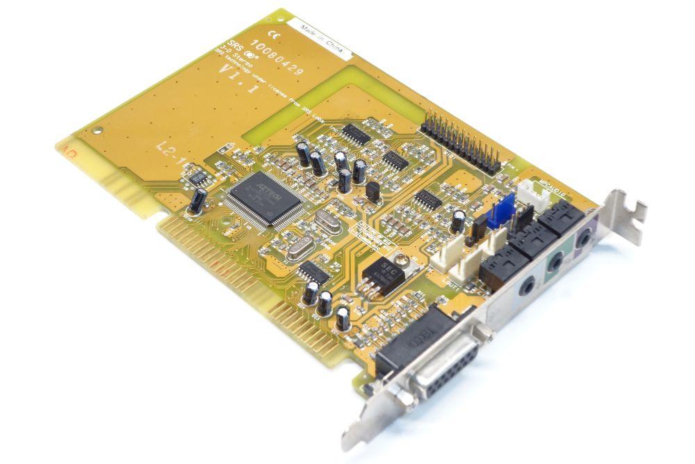 Aztech AZT2320 SRS 3D PnP ISA Vintage Retro Audio-Card Sound-Karte Wavetable OPL 4060787154477