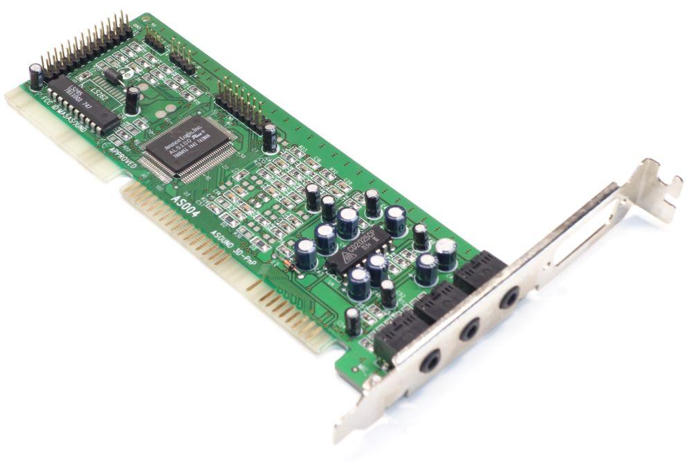 Asound 3D PnP ISA PC Audio-Card Sound-Karte Wavetable AS004 Avance Logic ALS100+ 4060787154484