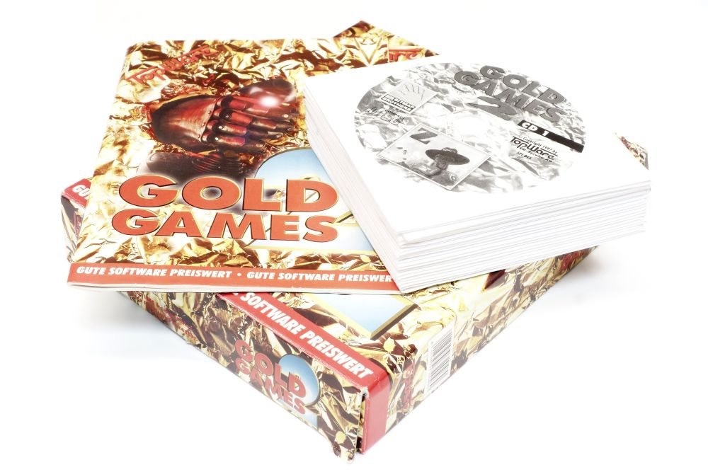 Gold Games 2 komplett OVP 22 CDs Computerspiele Z Bleifuss Baphomets Fluch Hind 4060787161062