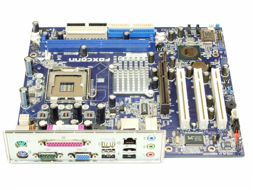 Foxconn P4M800P7MB-RS2H mATX MicroATX Mainboard Socket/Sockel 775 AGP SATA DDR2 4060787164636