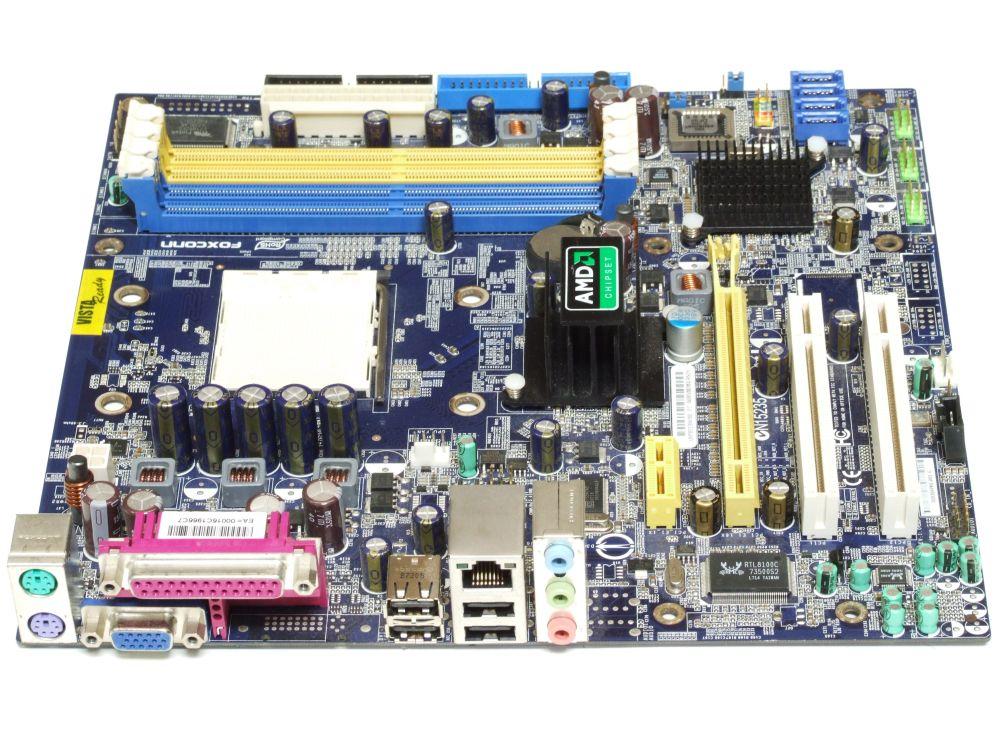 Foxconn A690VM2MA-RS2H microATX mATX PC Mainboard Socket/Sockel AM2 4x DDR2 PCIe 4060787165206