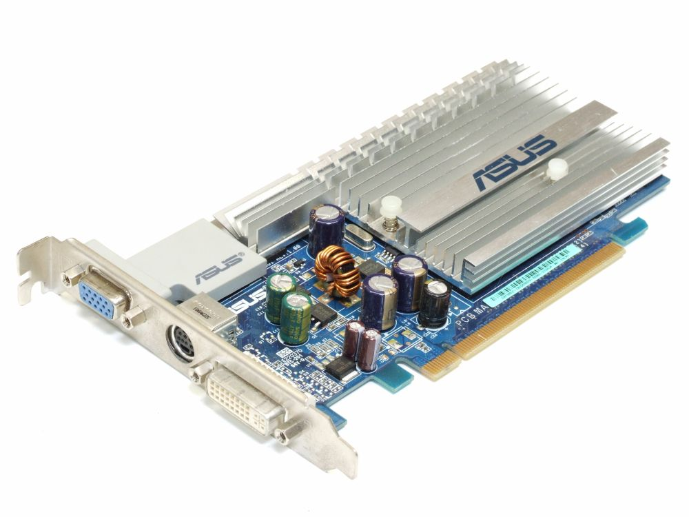 Asus GeForce 7300LE EN7300LE TOP/HTD/256M Treiber Windows 7