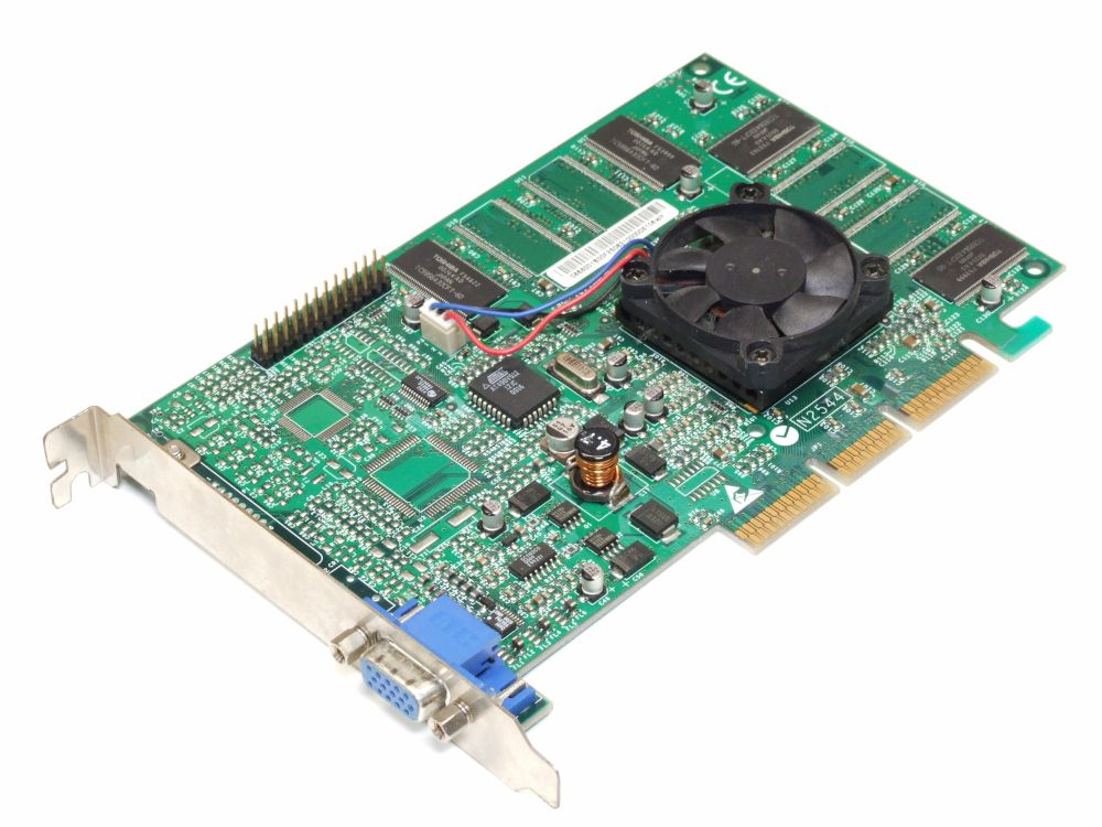 3dfx Voodoo4 4500 32MB AGP Universal Vintage Retro Graphics Card PC Grafikkarte 4060787170514