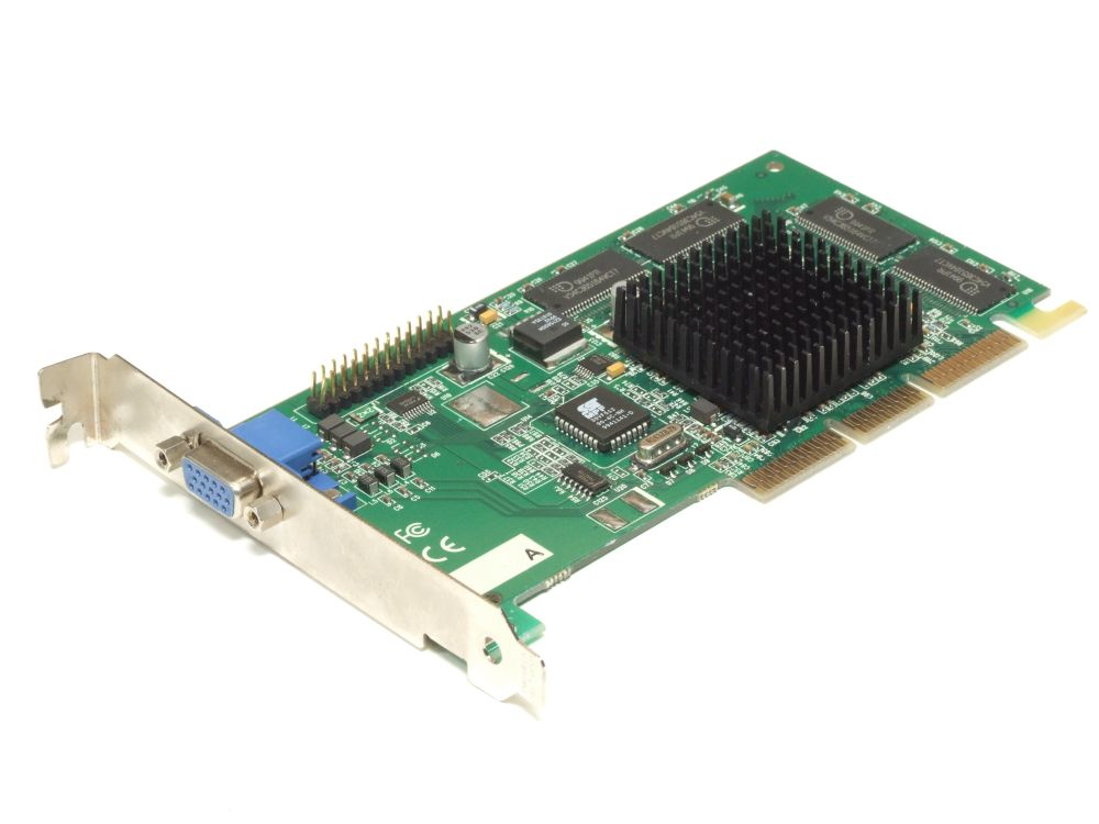 IBM 09N5033 Nvidia Riva TNT2 M64 GPU 32MB AGP VGA Graphics Video Board 180-P0009 4060787285300