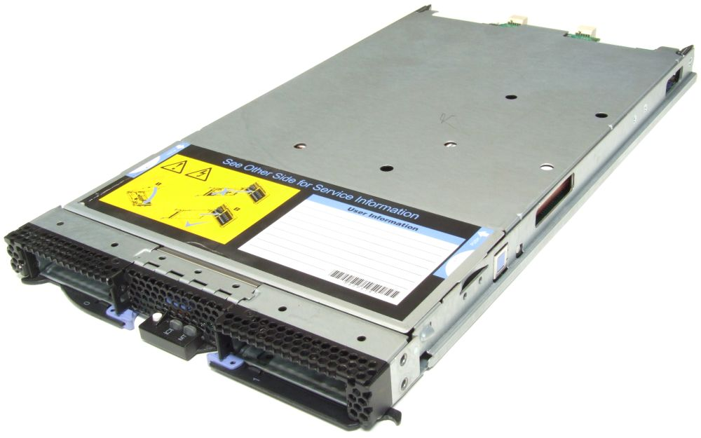 IBM Blade Center Server HS22 Intel Xeon E5502 1.86GHz CPU 14GB RAM DDR3 7870-D2G 4060787268181