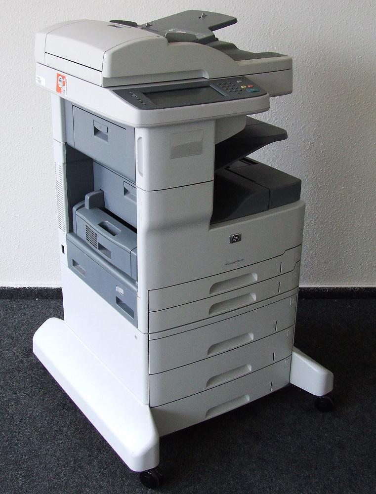 HP LaserJet M5035xs MFP schwarz/weiß Büro Laser Drucker Kopierer Scanner Fax A3 882780575073