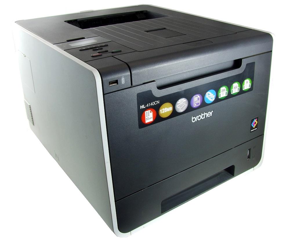 Brother HL-4140CN Farb Laser Drucker Color LAN Printer USB incl. Toner 20388 S. 4977766684521