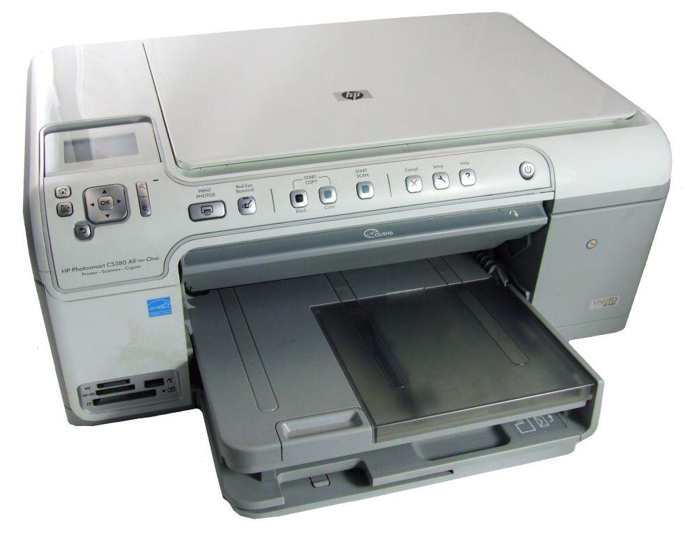 HP Photosmart C5380 All-In-One Drucker Scanner Kopierer Printer faulty/defekt 4060787260123