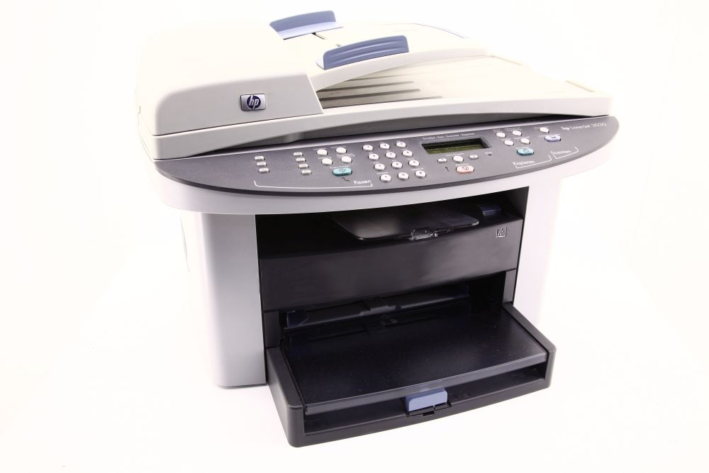 HP LaserJet 3030 All-In-One Drucker Kopierer Fax MFP Printer 22957 S./pp LPT USB 829160074771