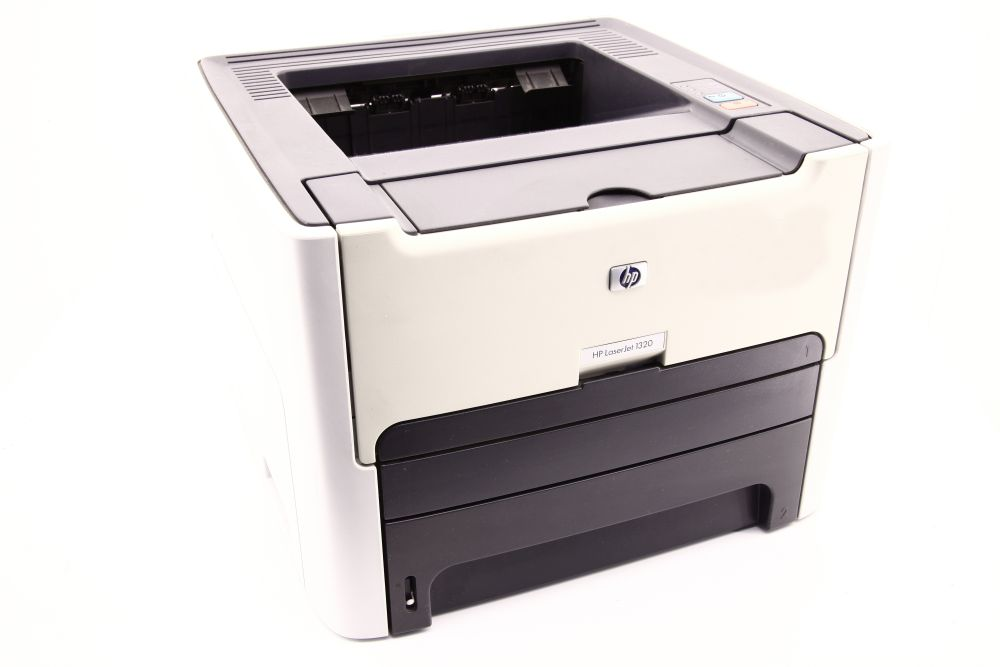 HP LaserJet 1320 Duplex A4 S/W Laser Drucker B/W Printer USB Parallel Toner 45% 829160407005