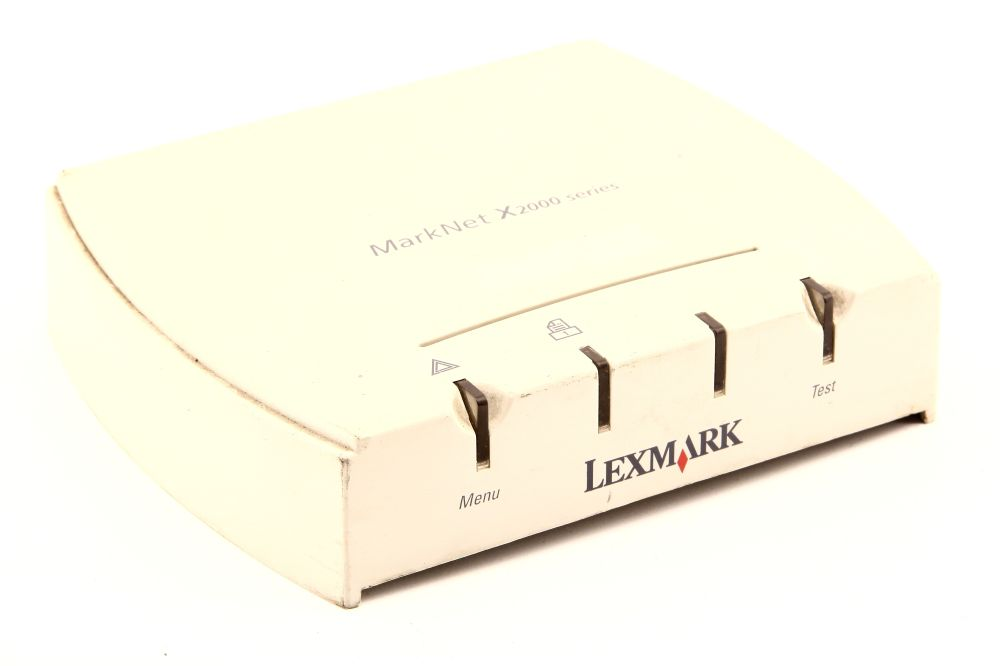 Fast Ethernet 10/100 Mbps Parallel LPT Print Server Lexmark MarkNet X2000 X2011e 4060787266903