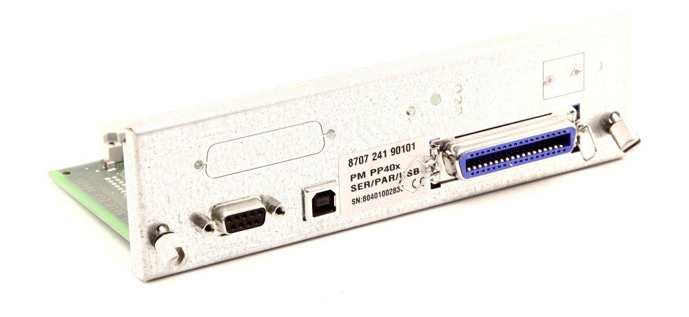 PSI PM PP40x SER/PAR/USB Personality Interface Schnittstellen Module COM LPT USB 4060787267559