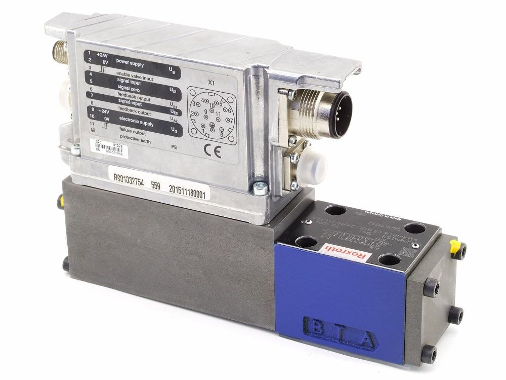 Bosch Rexroth 4WRPNH Servo Valve Ventil IAC-R Integrierter Achsregler NG6 315bar 4060787272584