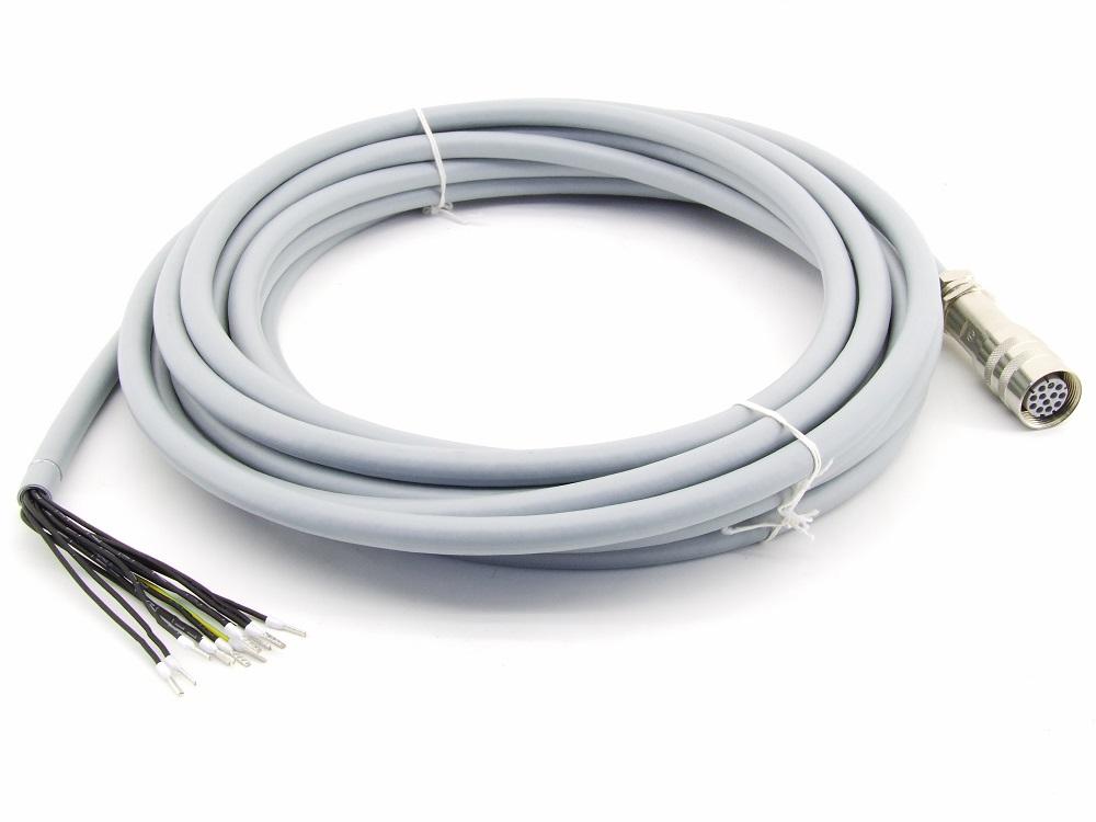 Hydraulik Ventil Verbindungsleitung Steuer-Leitung 10m 12-Pin Buchse C21031-010 4060787272706